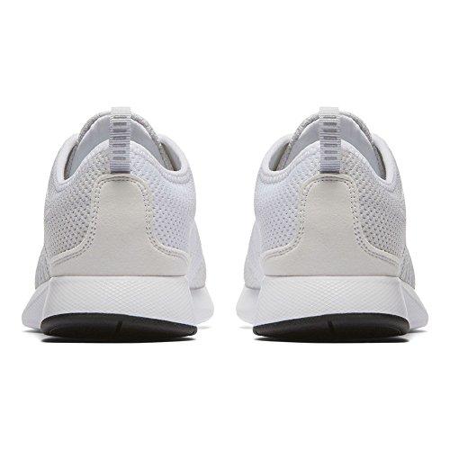 38 blanc Nike Dualtone argenté Chaussures Blanc Taille gs Racer xCqH6nC8