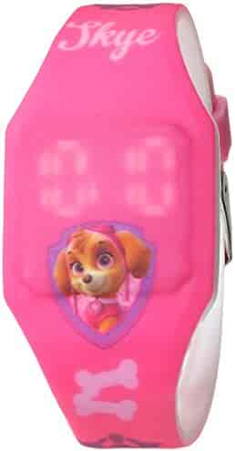 Nintendo Girl's Quartz Plastic and Rubber Casual Watch, Color Pink (Model: PAW4017)