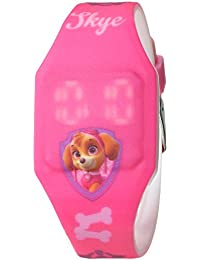 Girl's Quartz Plastic and Rubber Casual Watch, Color:Pink (Model: PAW4017)