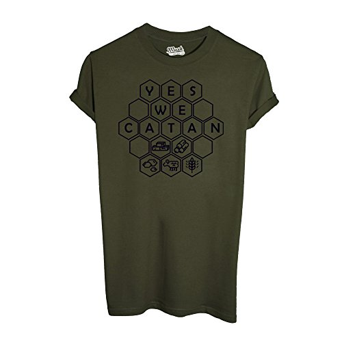 T-Shirt YES WE CATAN - GIOCHI DA TAVOLO - GAMES by iMage Dress Your Style