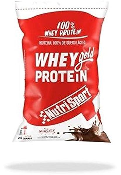 Whey Gold Protein Chocolate Bolsa 2 kg de Nutrisport ...
