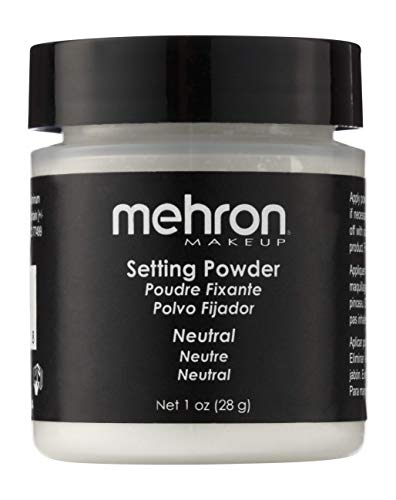 Mehron Makeup Setting Powder (1 oz) (Neutral) (Best Makeup Setting Powder For Combination Skin)