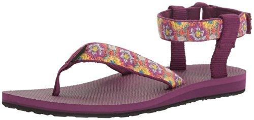 Teva Damen W Original Sandale Malena Fade Dunkelviolett / Multi