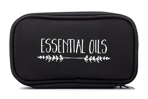 Essential Oil Carrying Case - Black
