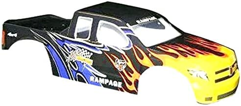 Redcat Racing Truck Body (1/5 Scale), Black Flame