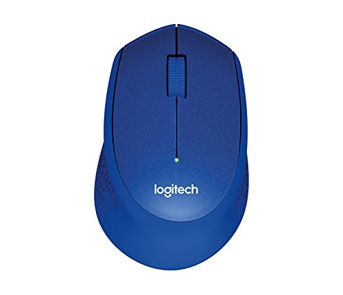 0148fb2703c Amazon.in: Buy Logitech M331 Silent Plus Wireless Mouse with Nano Receiver  (Blue) Online at Low Prices in India | Logitech Reviews & Ratings