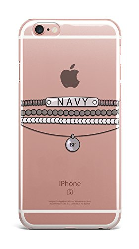 Rihanna singer bracelet fan fandom Navy plastic case / cover for Apple Iphone design made by LuxuryHunters ® (Iphone 7)