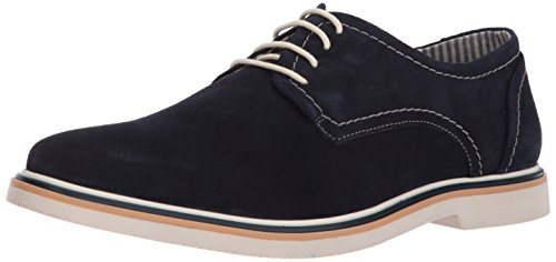 Steve Madden Men's Frick Oxford, Navy Suede, 11 M US by Steve Madden