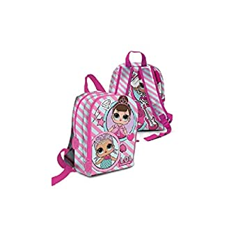 Lol Surprise Mini Mochila Guardería Escuela de muñeca Cartoon + regalo marcapáginas + regalo Bolígrafo coloreada: Amazon.es: Oficina y papelería