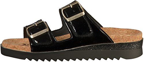 03 Women's Hollywood Black Mules Romika UEdPwqUX