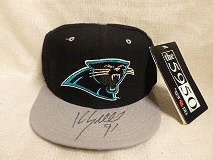 80c72e7dac0 Kevin Greene Autographed Signed Carolina Panthers New Era Pro Model ...