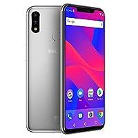 "BLU VIVO XI+ - 6.2"" Full HD+ Display Smartphone, 128GB+6GB RAM, AI Dual Cameras -Silver by CTMIA - pallet ordering"