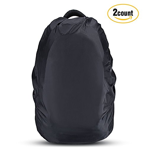 15e4f5a5ef75 Sale! New. AGPTEK 2-Pack Nylon Waterproof Backpack Rain Cover for Hiking   Camping  Traveling  Outdoor Activities ...