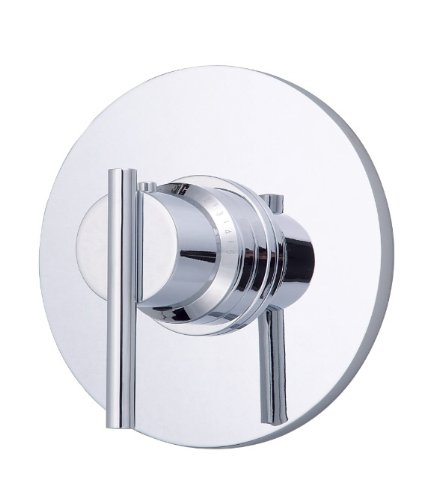 Single Handle 3/4-Inch Thermostatic Shower Valve Trim Kit, Valve Not Included, Chrome ()