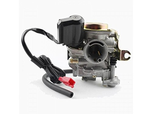 50cc Scooter Carburetor GY6 Four Stroke with Jet Upgrades Scooter Moped ATV by Scooter-ATV Parts