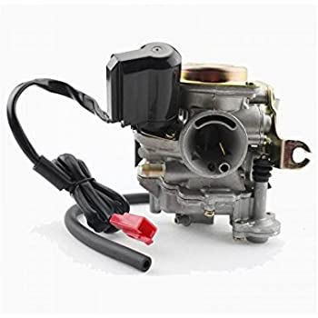 Amazon com: GOOFIT PD18 18mm Carburetor for 4 Stroke GY6 49cc 50cc