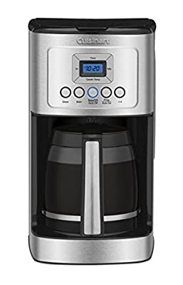 Cuisinart DCC-3200AMZ PerfecTemp 14 Cup Programmable Coffeemaker, Stainless Steel