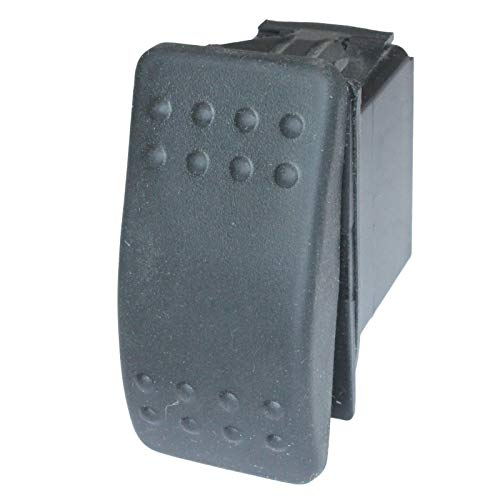 - 2 Position DC Rocker Switch Single Pole Double Throw SPDT ON/ON A & B Selector