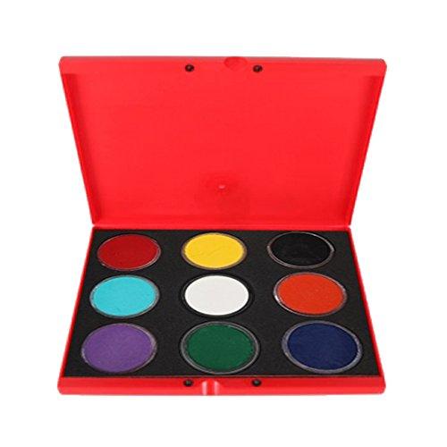 Kryvaline 9 Color Palette - Regular (30 g) by Kryvaline
