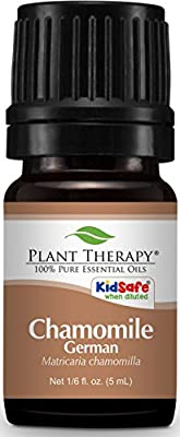 Plant Therapy Chamomile German Essential Oil. 100% Pure, Undiluted, Therapeutic Grade. 5 mL (1/6 Ounce). from Plant Therapy Inc