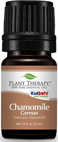 Plant Therapy Chamomile German Essential Oil. 100% Pure, Undiluted, Therapeutic Grade. 5 mL (1/6 Ounce).