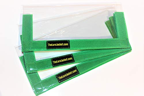 The Lure Jacket 3-Pack Angler Size (Green) - 8