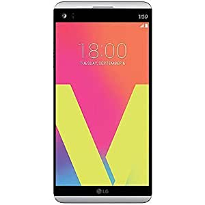 LG V20 H990DS 4G LTE Dual SIM Factory Uncloked, Android 7.0 (Nougat) OS 64GB 5.7-Inch 16MP + 8MP,  No Warranty - International Version, SILVER