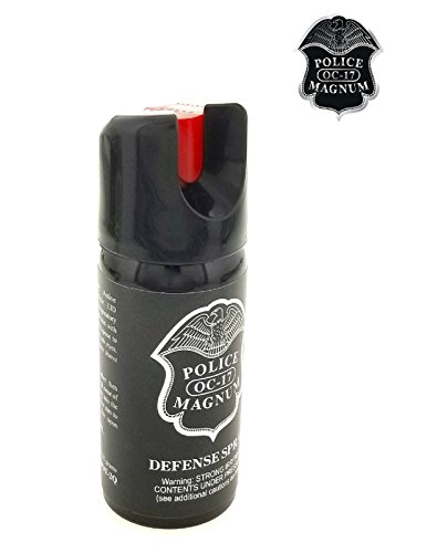 PEPPER SPRAY POLICE MAGNUM 3 Pack 2oz Safety Lock with Practice Spray by Police (Image #8)