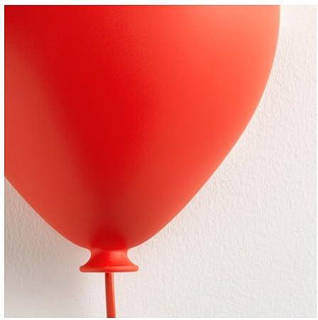IKEA DRÖMMINGE Wandleuchte in Balon Form (rot):