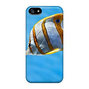 Protective Tpu Case With Fashion Design For Iphone 5/5s (fish)