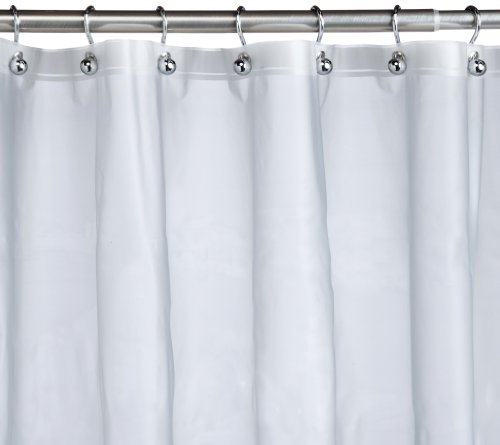Pinzon Basics PEVA Shower Curtain Liner Frost