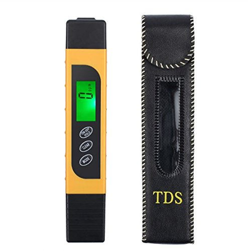 Cypress Shop 3 in 1 Digital Water Quality Tester TDS EC Purity Meter Temp PPM Test Filter Pen by Cypress Shop
