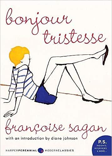 Bonjour Tristesse Book
