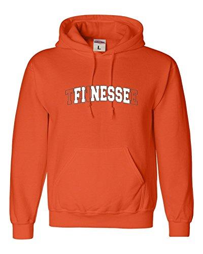 (Go All Out Medium Orange Adult Tennessee Finesse Sweatshirt Hoodie)