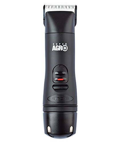 Andis Super AGR+ Cordless Detachable Blade Clipper, Professional Equine and Livestock Grooming, AGR+...