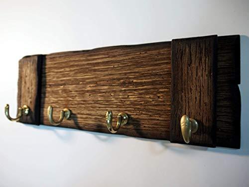 Rustic Wall Mounted Coat Rack Key Holder Dog Leash Holder Best Handmade Coat Rack