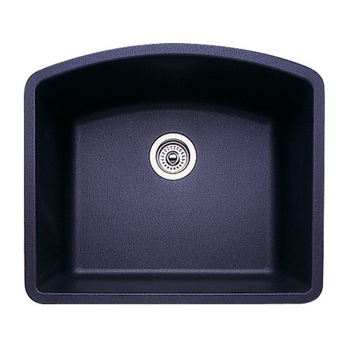 Blanco 511-712 Diamond 24-Inch-by-20-13/16-Inch Single Bowl Kitchen Sink, Anthracite Finish