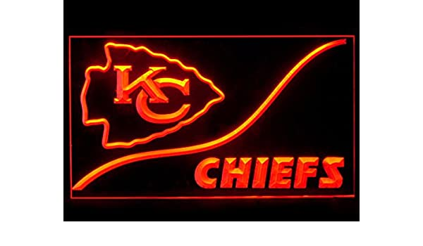 b0e89452 Kansas City Chiefs KC Cool Led Light Sign