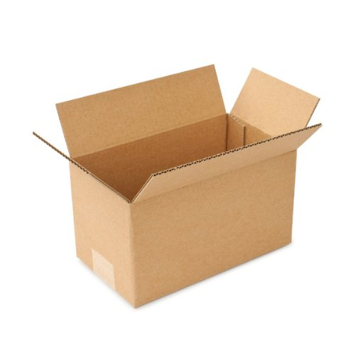 B-flute Corrugated Box (Pratt PRA0561 100% Recycled Corrugated Cardboard Box with B Flute, 9