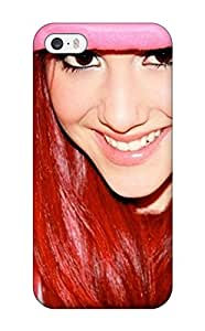 Tpu Case Cover For Iphone 5/5s Strong Protect Case - Ariana Grande Design