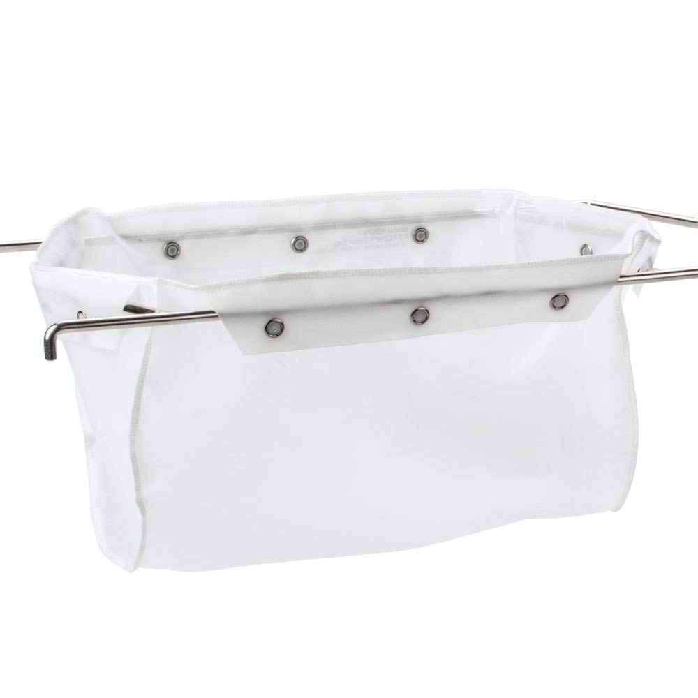 Miroil | RB33PS Fryer Filter Bag | MirOil EZ Flow Filter Bag, Part 12849, For Heavy Crumbloads, Suitable for 16 Qt or 28 lb Polishing Oil, Durable, Easy to Clean with Hot Water - No Frame