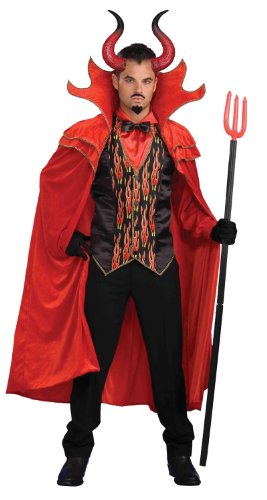 Devil Adult Devil Costume with Horns