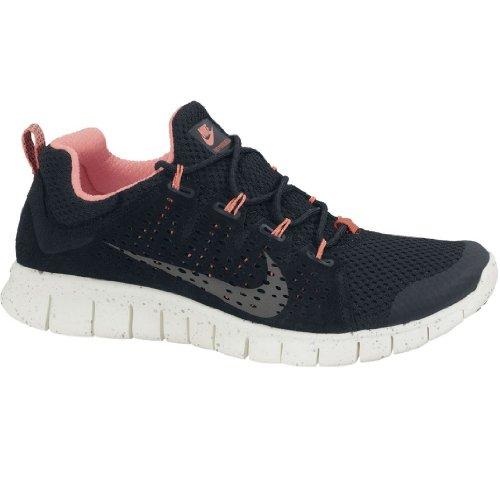 Powerlines Nike Free + 2 Ltr, Scarpe Da Corsa Per Uomo. Nero / Grigio Scuro / Vela / Argento Metallizzato.