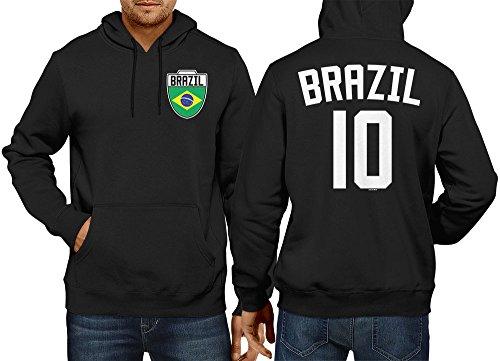 Mens Brasil Brazil Brazillian Sweatshirt