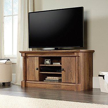 Sauder Palladia Panel TV Stand Vintage Oak (Tv Oak Vintage)