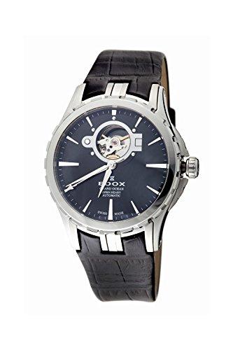 Edox Men's 85008 3 NIN Open Heart Automatic Grand Ocean Watch
