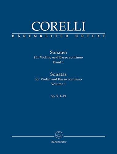 Corelli: Sonatas for Violin and Basso Continuo, Op. 5 - Volume 1 (Nos. - Violin Corelli