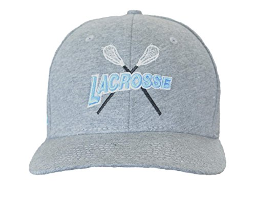 JANT girl Lacrosse Gray and Light Blue Baseball Hat by JANT girl
