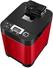 OFQBHJ Automatic Bread Machine Toasters, Intelligent Fast Breadmaker Fully Automatic Touch 450W LCD Screen Automatic Toasters with Heat Preservation Function