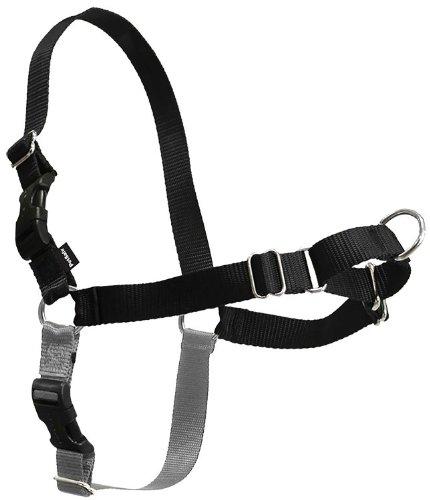 Easy Walk Harness BLACK, Size: Medium, My Pet Supplies